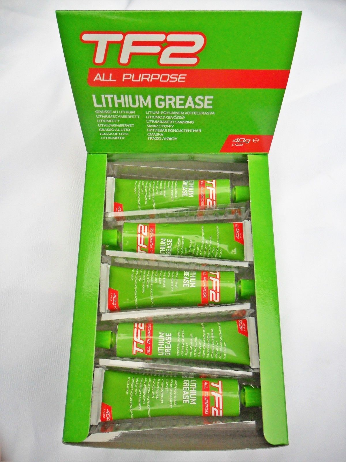 Weldtite Lubricant White Lithium Grease 40g Tube